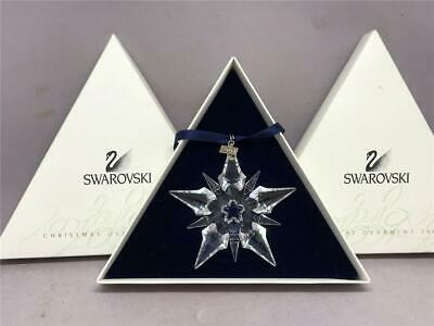 Gorgeous Annual SWAROVSKI Crystal Star Snowflake Ornament 2001, Box