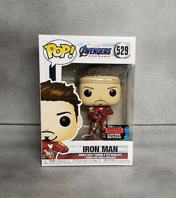 Funko Pop! Iron Man NYCC Gauntlet Tony Stark #529 SHARED CON 2019 EXCLUSIVE