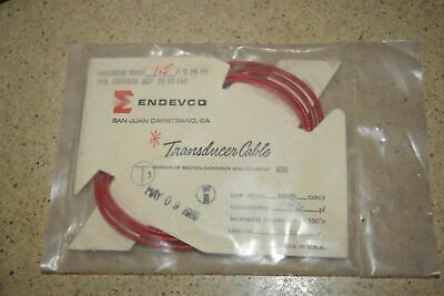 """ENDEVCO 3090B- 36"""" - 96pF 500°F ACCELEROMETER CABLE- NEW (#9)"""