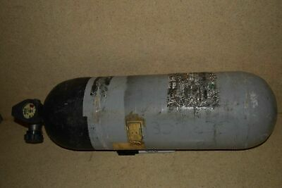 MSA Mine Safety Appliance 7-1008-1 3000PSI SCBA Airtank-FIRE-RESCUE-PAINTBALL-6F