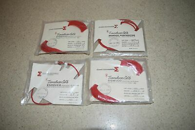 Endevco 3090A Transducer Cable- Lot Of 4 (Nn)