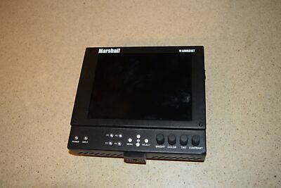 Marshall Electronics V-Lcd651St Lightweight High Resolution Monitor