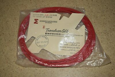 """ENDEVCO 3090B- 156"""" - 382pF 500˚F ACCELEROMETER CABLE- NEW (#37)"""