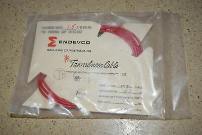 """ENDEVCO 3090B- 36"""" - 90pF 500˚F ACCELEROMETER CABLE- NEW (#21)"""