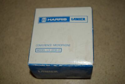 Harris Lanier Conference Microphone Model Lx-008-0 -New