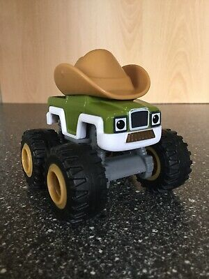 Die-Cast COWBOY Truck: Blaze and the Monster Machines.