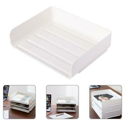 Office Files Document Holder Letter Storage Desk Top Organiser Tray Sorter Case