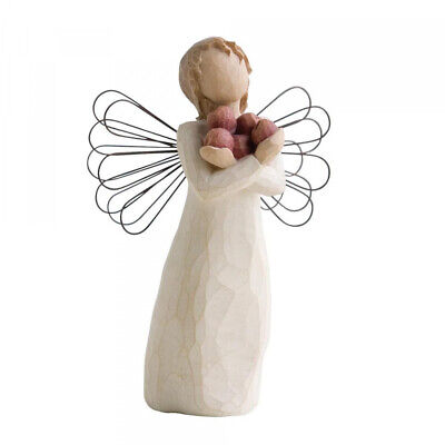 NEW Good Health Angel Figurative Sculpture - Willow Tree by Susan Lordi