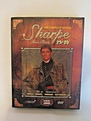 The Complete Series Sharpe DVDs 14 Feature Length Episodes Sean Bean