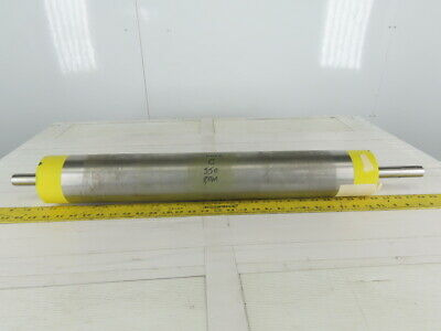 """3.89"""" OD 26"""" BF 26"""" Crowned Face Conveyor Belt Drive Pulley Roller"""