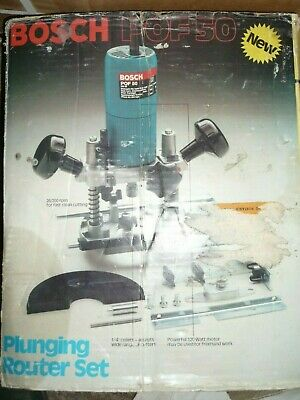 Router BOSCH plunging router set POF50 - Swiss made