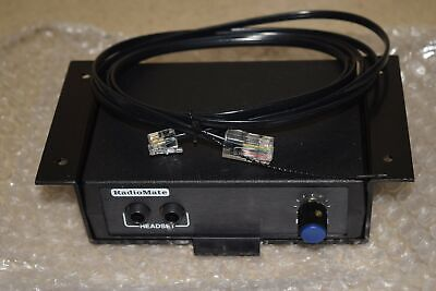 Radiomate Jackmate For Dispatch Two Way Radio Use - New