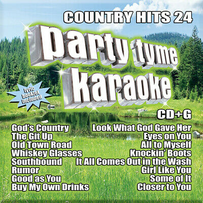 Various Artists - Party Tyme Karaoke: Country Hits 24 (Various Artists) [New CD]