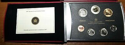 2007 Canada Trumpeter Swan Specimen Dollar Loonie - Uncirculated Coin