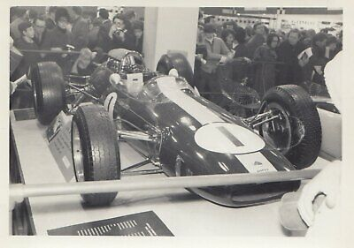 1965 Lotus 33 F1 Gp Champion Jim Clark Racing Car Show 1966 Original Photograph