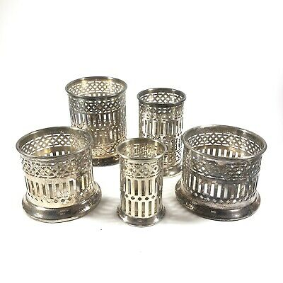 Bernard Rices Sons Apollo EPNS Candle Holders - Set Of 5