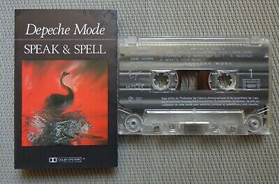 DEPECHE MODE 'Speak & Spell' original 1981 French CASSETTE-TAPE, VERSION 1