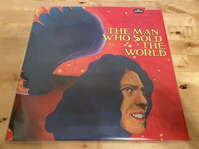 David Bowie - The Man Who Sold The World Red Vinyl Record