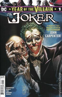 Joker Year of the Villain 1A Tan Variant NM 2019 Stock Image