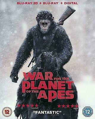 War for the Planet of the Apes - 3D & 2D Bluray w. slipcover, Andy Serkis