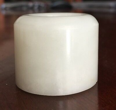 Chinese Jade Thumb Archer Ring