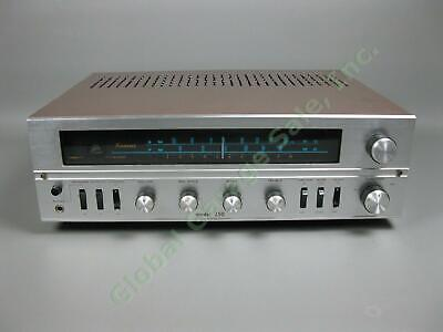 Vintage Sansui 250 AM/FM MPX Stereo Tuner Amplifier Receiver Tested Working NR