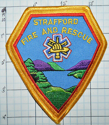 New Hampshire, Strafford Fire Dept Rescue Patch