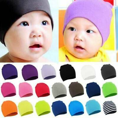 Fashion Baby Boys Girls Newborn Infant Toddler Kids Cotton Cute Hat Beanie Cap