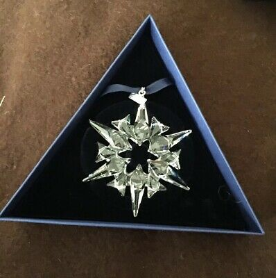Swarovski Crystal 2007 Annual Christmas Ornament  New (MIB)
