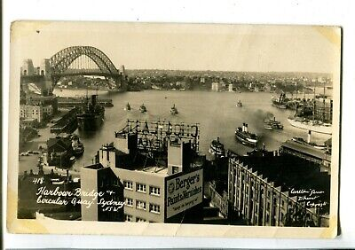 Sydney Harbour Bridge & Circular Quay RPPC