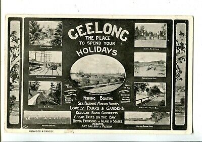 Geelong Multiview The Pace to Spend your Holidays c.1908