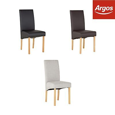 Prime Argos Home Pair Of Skirted Dining Chairs Choice Of Colour Ibusinesslaw Wood Chair Design Ideas Ibusinesslaworg