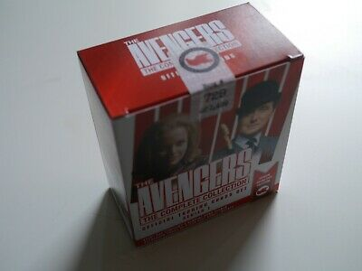 THE AVENGERS COMPLETE COLLECTION Complete Factory Sealed Box