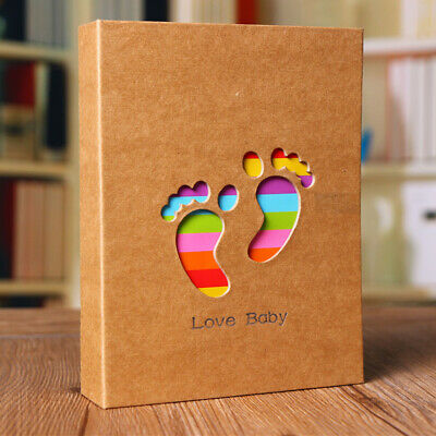 "6x4"" Baby Photo Album Holds 100 Photos Memory Photography Storage"