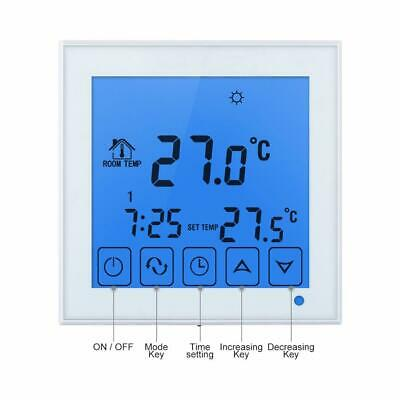 Cronotermostato Programmabile Digitale LCD Touch Screen Termostato AC 200〜240V