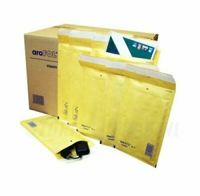 Arofol Gold Padded Bubble Envelopes Mailer Bags Postal Wrap - All Sizes  Uk