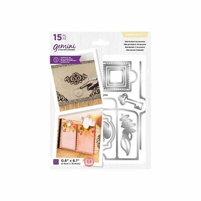 Crafters Companion Precious Moments Memory Book Die - Mini Pocket & Access