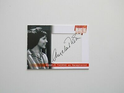 THE AVENGERS COMPLETE COLLECTION Cut Autograph Card Angela Thorne AT1