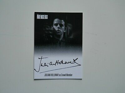 THE AVENGERS COMPLETE COLLECTION Autograph Card Julian Holloway AVJH1 (Black)