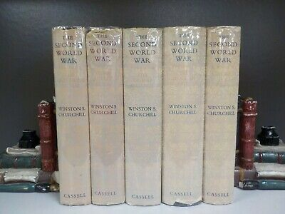 Winston S.Churchill - The Second World War Volumes 1-5 First Editions (ID:6226)