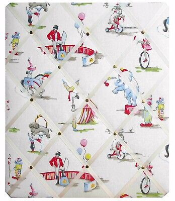 Pin Board Notice Message Board Memo Board In Cath Kidston Circus Fabric
