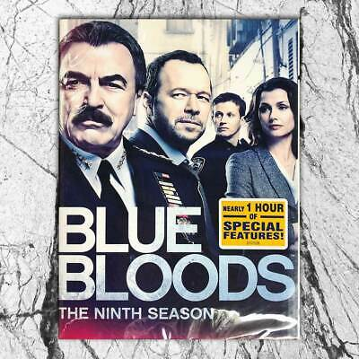 BLUE BLOODS SEASON 9 NINE 9TH  (DVD,2019) FREE SHIPPING First Class Mail