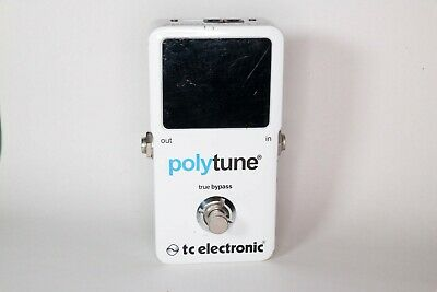 TC Electronic Polytune Polyphonic Guitar Tuner TESTED works perfect