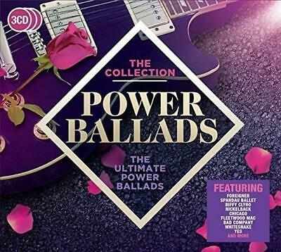 Power Ballads: The Collection, Various Artists, Audio CD, New, FREE & FAST Deliv