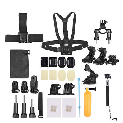 Andoer 37-In-1 Basic Common Action Camera Accessories Kit for GoPro hero T0T1