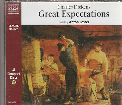Charles Dickens  GREAT EXPECTATIONS  4cd audio