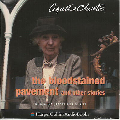 Agatha Christie  THE BLOODSTAINED PAVEMENT & other stories  2cds