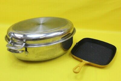 Jamie Oliver Tefal stainless steel Induction & cast Iron pan ## rec 01 lc