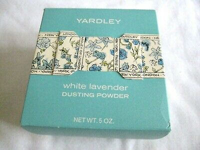 Vintage Yardley White Lavender Dusting Powder 5 oz New in Box
