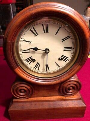Very Old, Patent Date 1870 By Elias Ingraham, Mantel Clock, No Key,Free Shipping